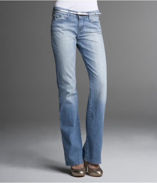 Eva Boot Cut Jean - Light Rain