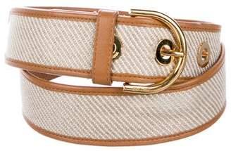 Loro Piana Leather Buckle Belt