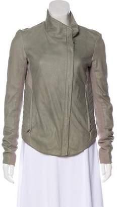 Helmut Lang Hi/Lo Leather Jacket