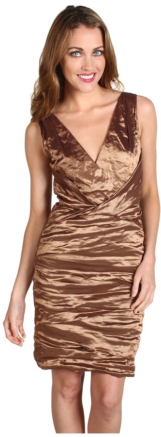 Nicole Miller Iridescent Inox Dress (Rose) - Apparel