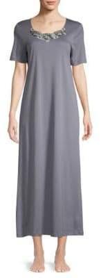 Hanro Short Sleeve Sleep Gown