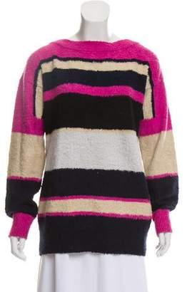 Sacai Knit Long Sleeve Sweater