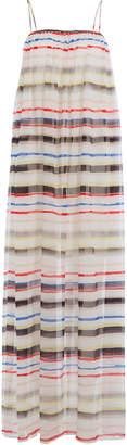Marysia Swim Cotton Maxi Dress with Silk