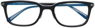 Brioni rectangular frame glasses