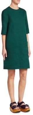 Marni Cotton Drill Shift Dress