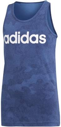 adidas Boy's Essentials Linear Tank Top