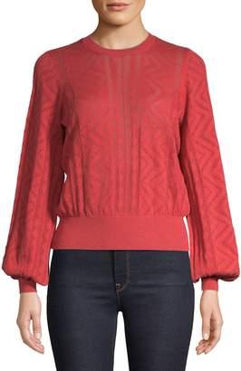 Joie Crewneck Cotton Cashmere Blend Sweater