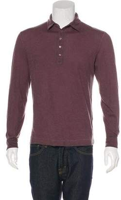 Massimo Alba Cashmere-Blend Polo Shirt