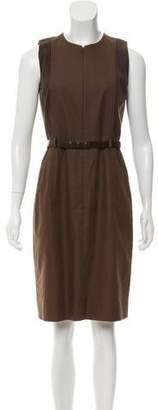 Akris Punto Sleeveless Knee-Length Dress