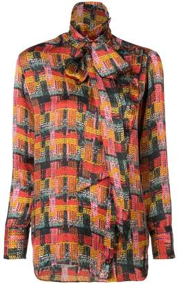 ADAM by Adam Lippes removable scarf blouse