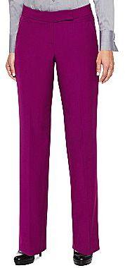 JCPenney Worthington® Extended Tab Slim-Leg Pants - Petite