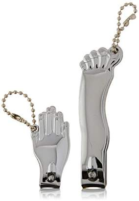 Kikkerland Hand and Foot Nail Clippers Set
