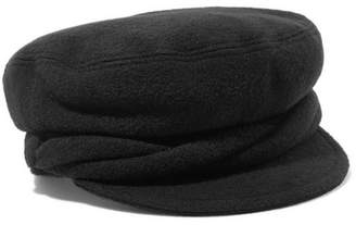 Maison Michel New Abby Wool Cap - Black