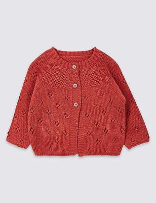 Marks and Spencer Pointelle Cardigan