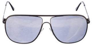 Tom Ford Reflective Aviator Sunglasses
