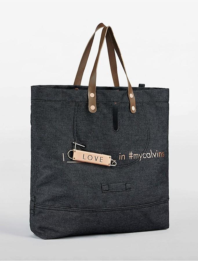 Calvin KleinDenim Love Tote Bag
