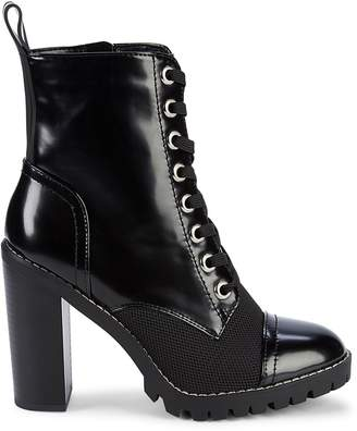 BCBGeneration Paulina Lace-Up Booties