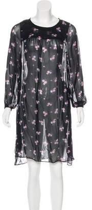 Etoile Isabel Marant Silk Knee-Length Dress