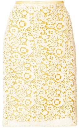 Miu Miu technical macramé skirt