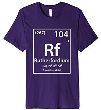 Rutherfordium Periodic Table of Elements T-Shirt