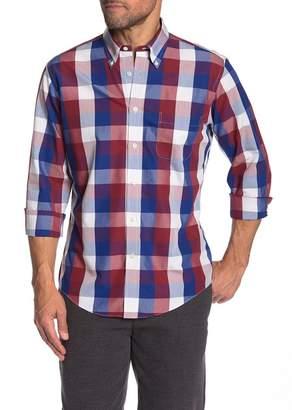 Brooks Brothers Trim Fit Regent Large Check Dress Shirt