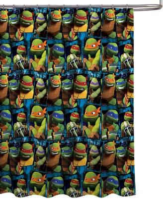 "Nickelodeon Teenage Mutant Ninja Turtles '' PEVA Shower Curtain, 70"" x 72"""