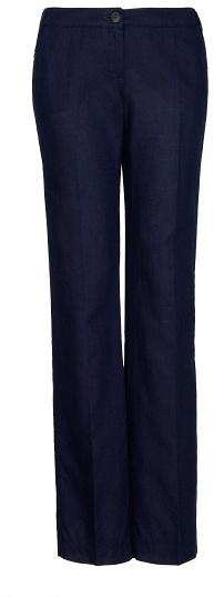 MANGO Linen Cotton-Blend Trousers