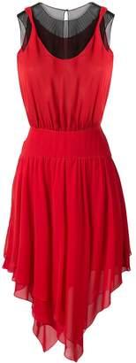 Karl Lagerfeld Paris asymmetric dress