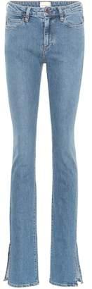 Split Lowry mid-rise jeans