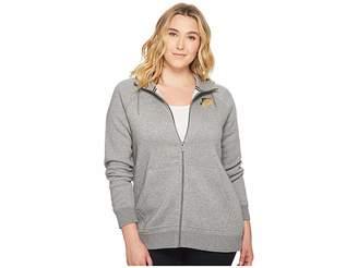 Nike Sportswear Rally Metallic Hoodie Women's Sweatshirt