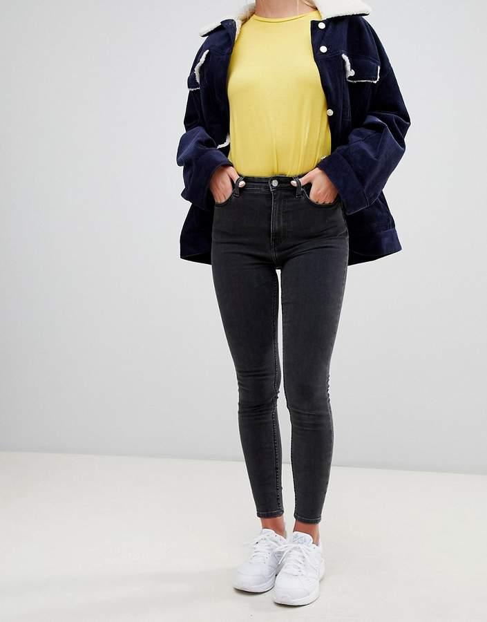 Weekday High Waist Body Jeans
