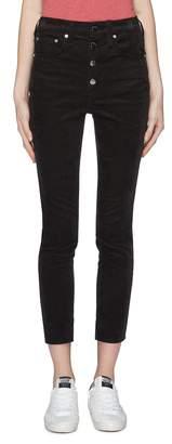 Rag & Bone 'Rosie' cropped corduroy skinny pants