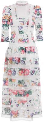 Zimmermann Allia Pintuck Long Dress