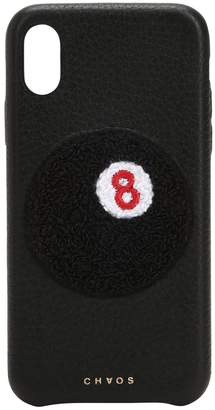 Chaos 8-ball Leather Iphone X Cover
