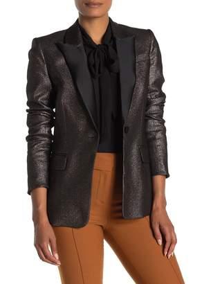 Veronica Beard Ashburn Metallic Blazer Jacket