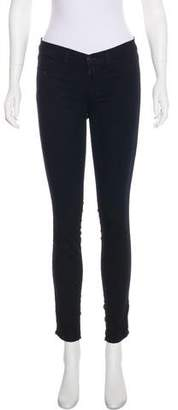 J Brand Low-Rise Skinny Leggings