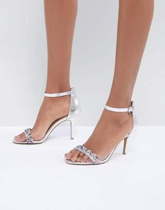 Head Over Heels by Dune Meeva Jewel Barely There Heeled Sandals