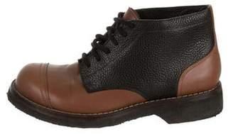 Marni Leather Chukka Boots