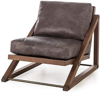 At One Kings Lane · Thomas Laboratories Teddy Accent Chair   Tobacco Leather  Bina
