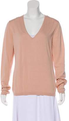 Malo V-Neck Knit Top