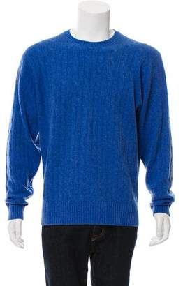 Peter Millar Cable Knit Cashmere Sweater