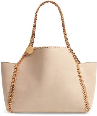 Stella McCartney Shaggy Deer Reversible Faux Leather Tote