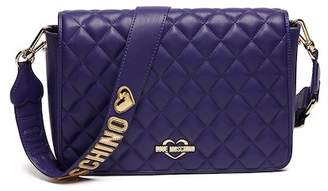 Love Moschino PU Leather Quilted Shoulder Bag
