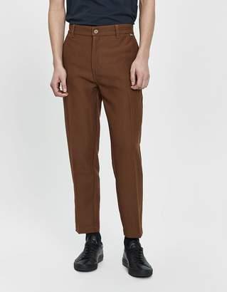 Dickies Construct Taper Slim Twill Pant in Medium Khaki