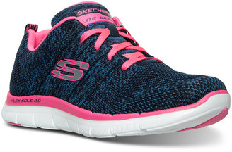 Skechers Women's High Energy Walking Sneakers from Finish Line $59.99 thestylecure.com