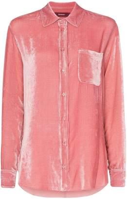 b70b65c4 Sies Marjan Sander cotton silk blend corduroy shirt