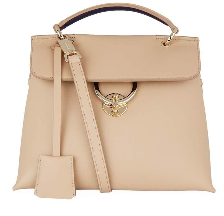 Salvatore Ferragamo Medium Top Handle Shoulder Bag, White, One Size