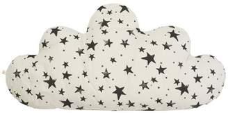 Noë & Zoe Large Cloud Star Print Pillow
