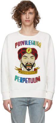 Gucci White Sergio Mora Fortune Teller Sweatshirt