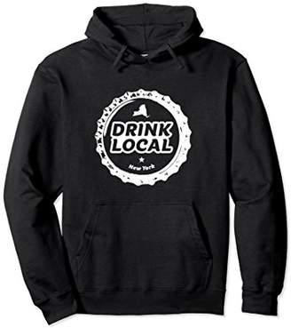 Drink Local New York City Craft Beer Bottle Cap Sweatshirt